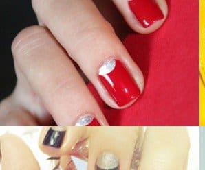 How to do a Half-Moon Manicure